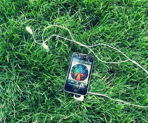 grass, ipod, and muse image