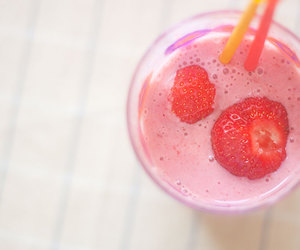 drink, smoothie, and summer image
