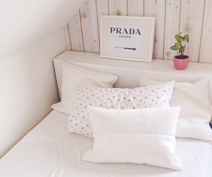 bedroom, Prada, and room image