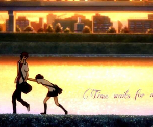 toki wo kakeru shoujo, time waits for no one, and mamiya chiaki image