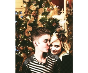 couple, demi lovato, and justin bieber image