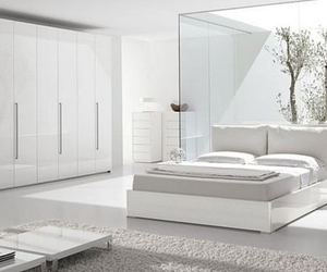 bedroom, white, and design image