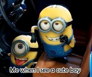 minions, boy, and funny image