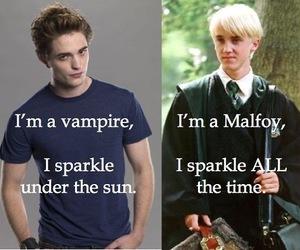 harry potter, draco malfoy, and twilight image