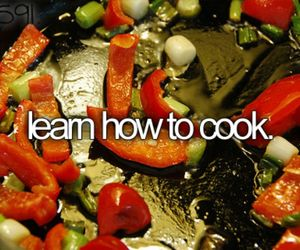 before i die, bucket list, and cook image