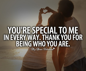 love, special, and quote image