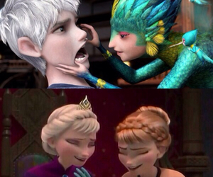frozen, jelsa, and anna frozen image