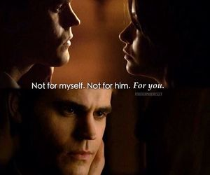the vampire diaries, stefan salvatore, and steferine image