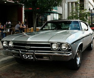 car and '69 chevrolet chevelle ss image