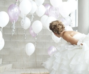 white and balloon image