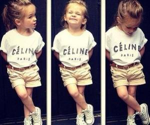fashion, kids, and celine image