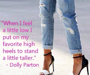 high heels, quote, and quotes image