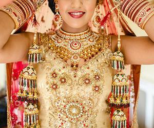 jewelry, smile, and wedding image