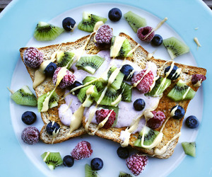 healthy, blueberry, and food image