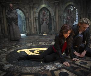 jace wayland, clary fray, and silent city image
