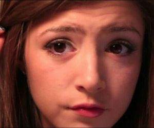 chrissy costanza, cute, and first make up tutorial image