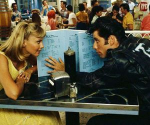 grease, movie, and musical image