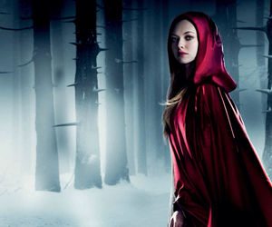 actress, movie, and red riding hood image