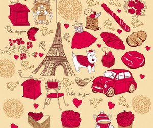 paris and red image