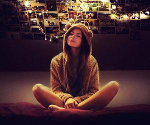 girl, light, and Dream image