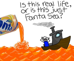 fanta and funny image