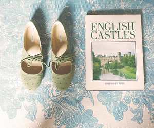 shoes, vintage, and book image