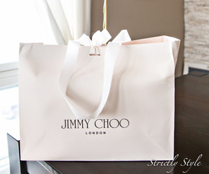 fashion blogger, Jimmy Choo, and strictly style image