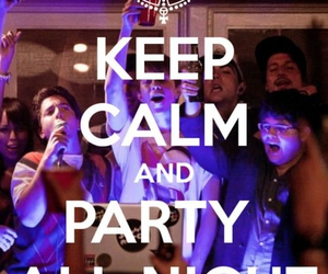 alcohol, party, and party all night image