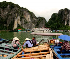 halong bay, photography, and travel image