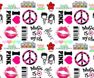 girly, peace, and what image