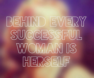 success, quote, and woman image