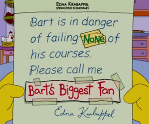 lol, simpsons, and the simpsons image