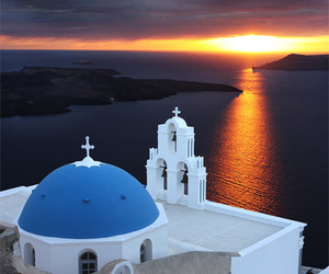 beautiful, Greece, and view image