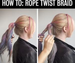 diy and rope twist braid image