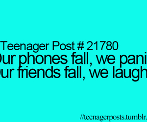 phone, teenager post, and laugh image