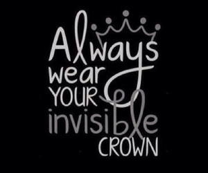 crown, Queen, and quote image