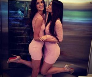 beautiful, brunette, and kylie jenner image