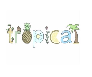 tropical, summer, and overlay image