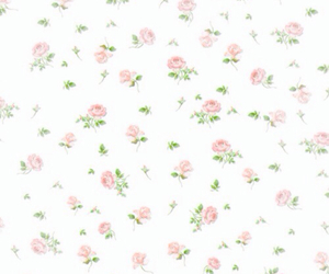 floral, pink, and background image