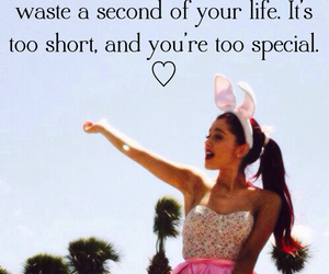 quote, ariana grande, and love image