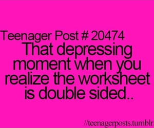 teenager post, lol, and school image