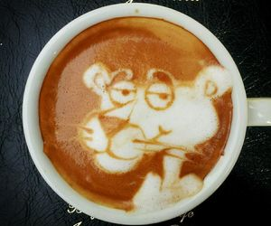coffee, art, and latte image