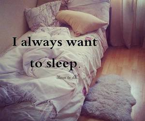 sleep, bed, and quote image