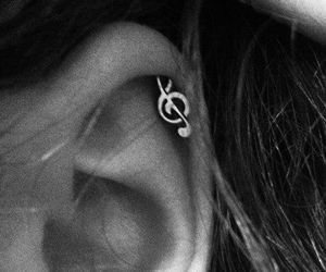 earring, music, and cute image