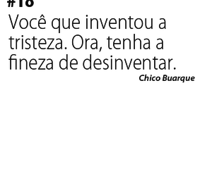 chico buarque, frases, and text image