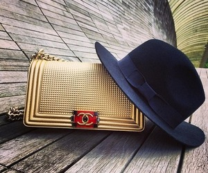 chanel and hat image