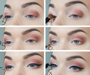 beautiful, eye makeup, and girly image