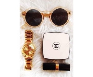 beauty, golddigger, and chanel image