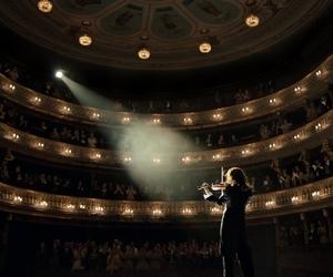 film, theatre, and violin image