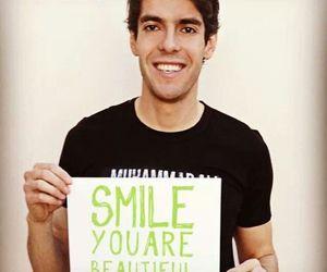 kaka, beautiful, and smile image